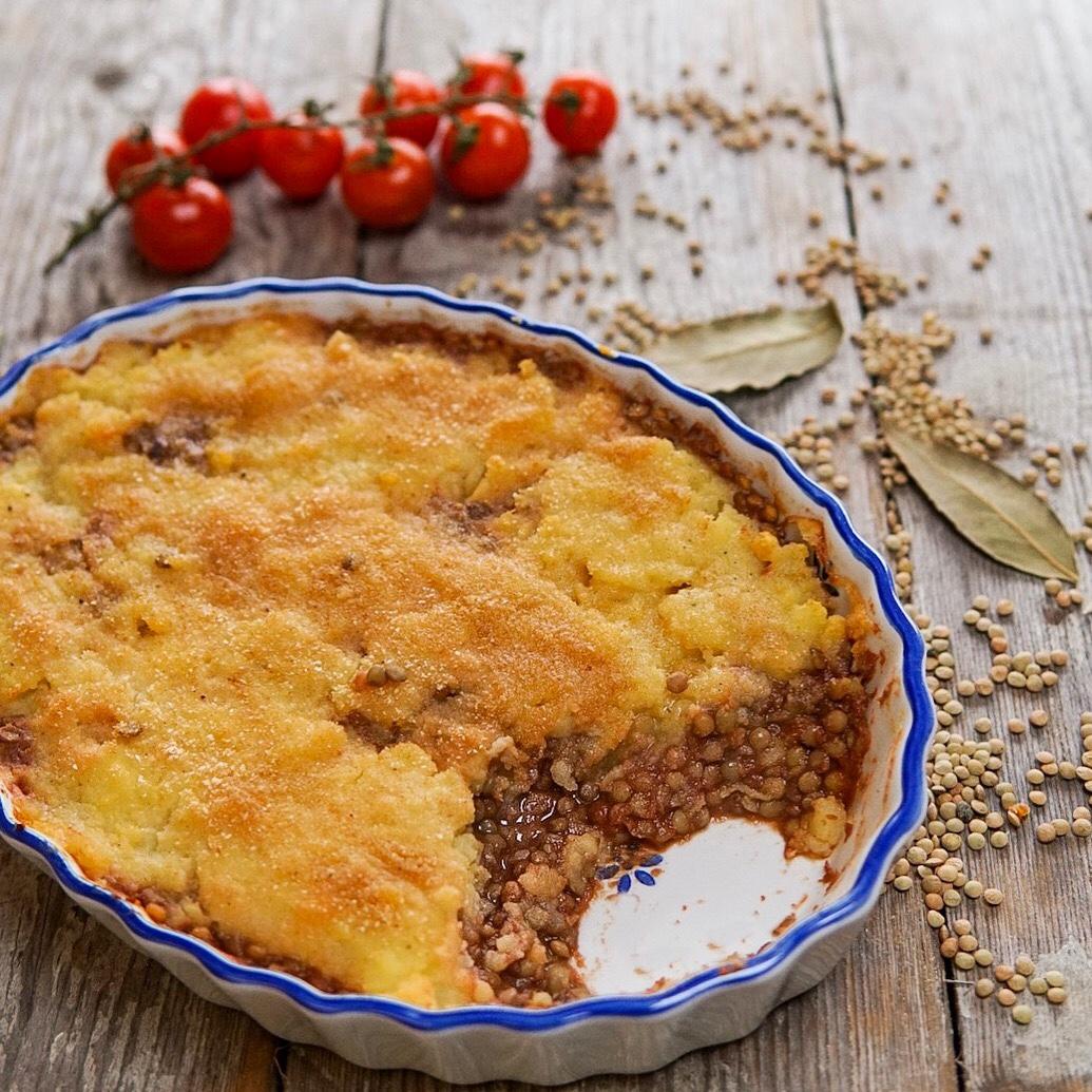 Ricetta Lenticchie E Patate.Sformato Di Patate E Lenticchie Basilico Secco