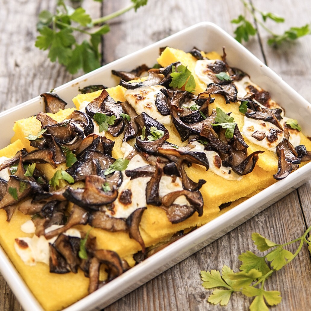 polenta-con-funghi-e-philadelphia-light