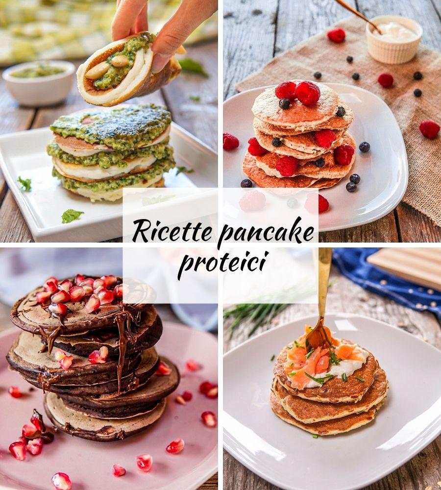 ricette pancake proteici