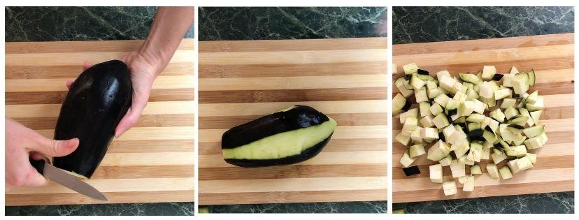 polpette di melanzane e carne