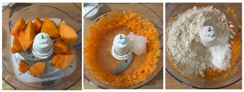 procedimento torta di zucca light