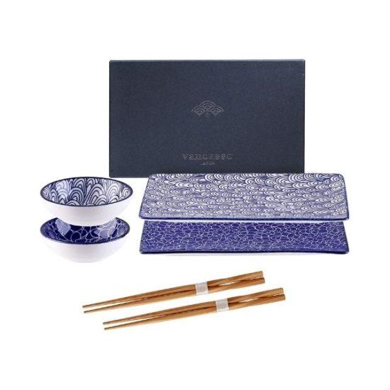 Set sushi blu