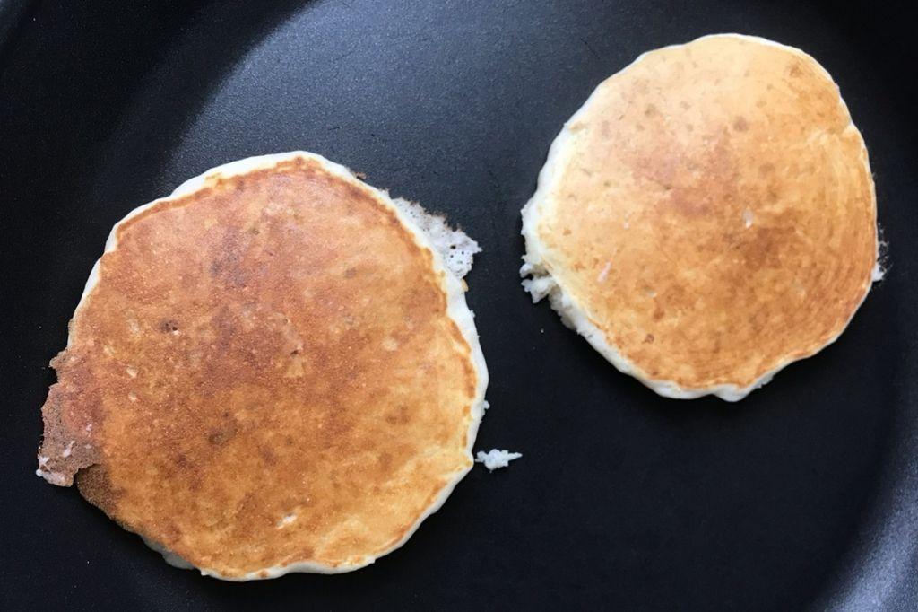 procedimento pancake alle mele