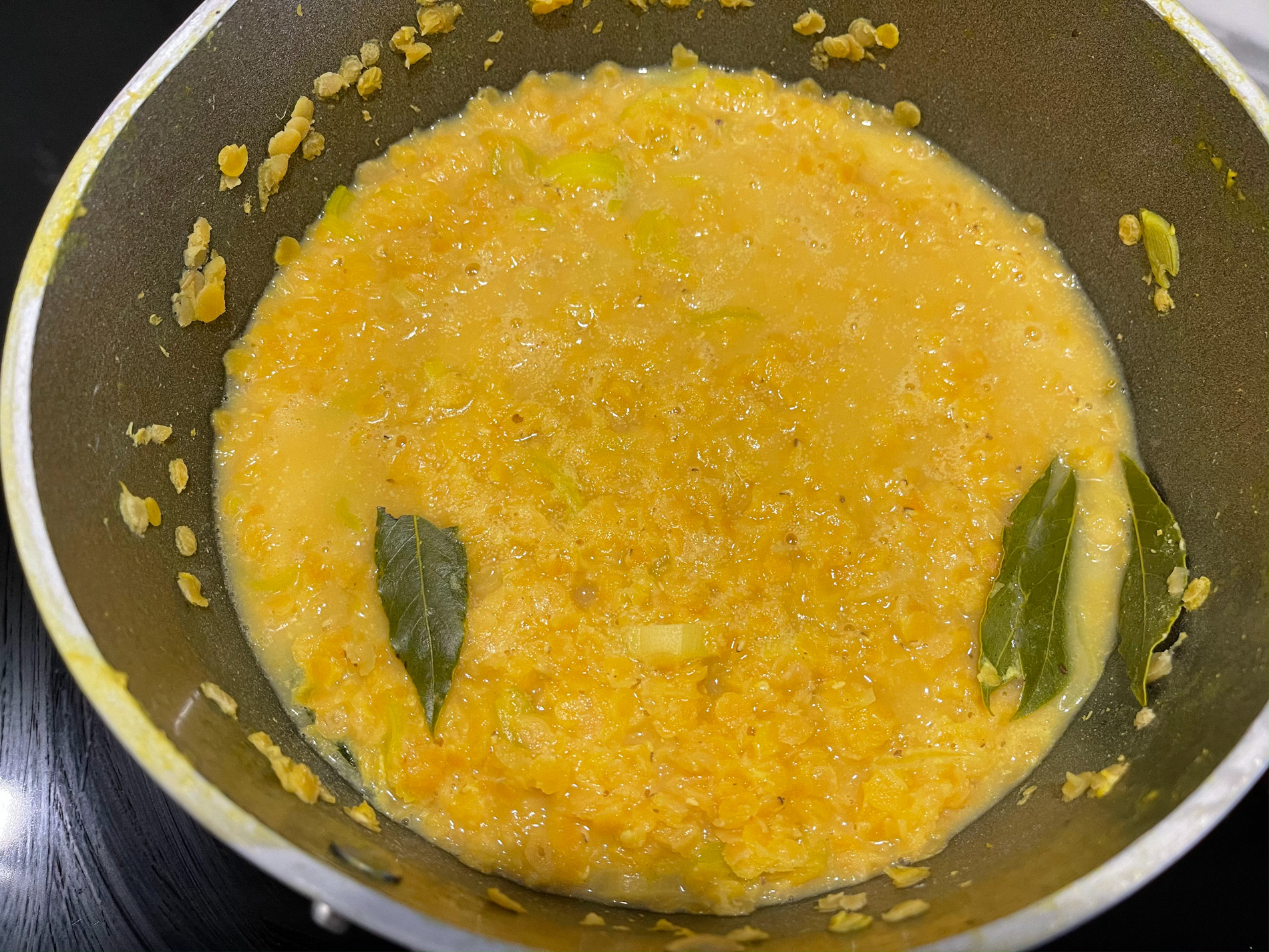 Procedimento zuppa di lenticchie rosse